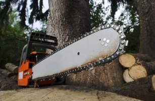 The bar measurement on a chainsaw is important to know.