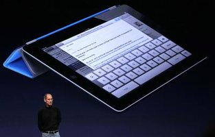 Evernote lets you type, but not write, on the iPad.