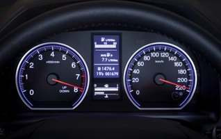 The Names of the Instruments on the Dashboard of a Car | eHow