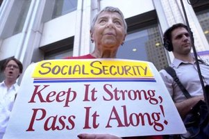 Social Security provides on average about one-third of most retirees' income.