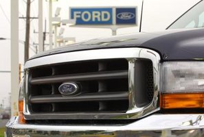 How to Remove the Inside Door Panel on a Ford Crew Cab