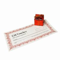 Personalized gift certificates make creative gifts.
