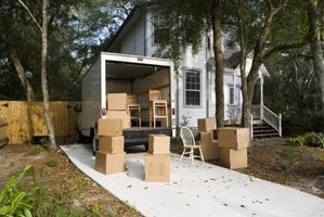 Properly sized and well-packed moving boxes help protect household goods.