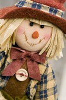 Scarecrows can take on a traditional look or something a little different.