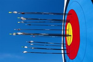 The CyberTec bow shoots arrows for target archery and for hunting wild game.