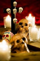 Skulls are a central part of Mexico's Day of the Dead.