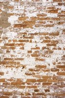 Weathered brick shows clear signs of aging and damage.