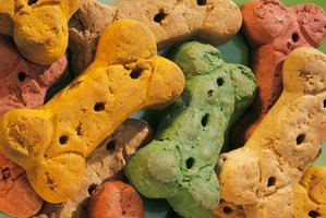 Make your own dog treats for your pet.