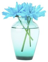 Flowers in the blue family, such as teal, can be hard to match.