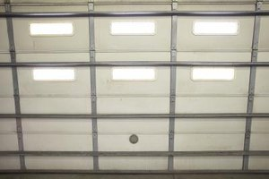 How to Adjust an Overhead Garage Door