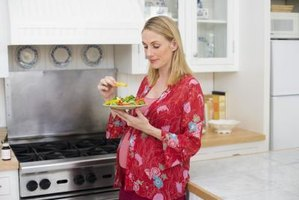 Good nutrition is important for a pregnant woman and her baby.