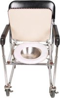 Commodes are typically used by the elderly and disabled people.