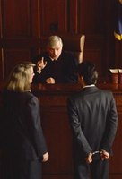 Attorneys may advocate for their clients in court.