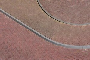 Create smoothly curving concrete curbs with an extruding curbing machine.