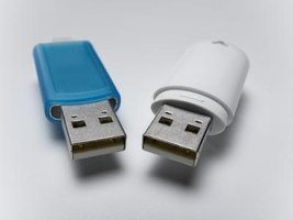 Unlock a USB memory stick permitting data to be written to the device