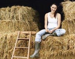 how to make fake hay bales
