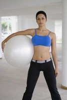 Exercise balls force all of your core muscles to work together.