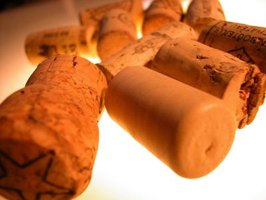 Bottle corks can make interesting art projects.