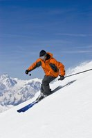 Downhill skiing doesn't burn calories at a fast rate.