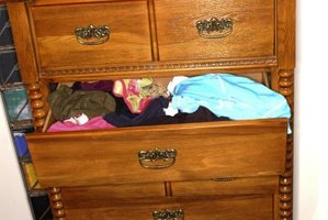 Give your old drawers a new life as rolling storage.