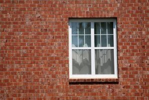 Adding a window like this in a brick wall is a major remodeling job.