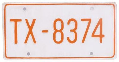 Rules for Antique Automobile License Plates