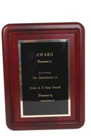 Hang your award plaques securely to your wall.
