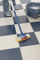 Homemade green cleaners perk up vinyl floors while remaining kind to the environment.