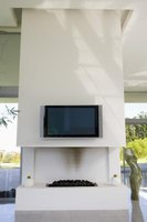 Gas fireplace inserts are more efficient than traditional wood fireplaces.