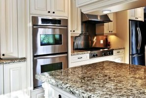 Granite is a durable stone, perfect for countertops.