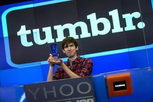 David Karp, founder of Tumblr, instituted sponsored blogs in 2012.