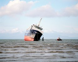 Marine insurance pays for cargo lost in transit.