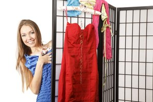 A DIY room divider can be informal and inexpensive.