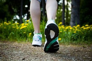Walking is an effective calorie-burning exercise.
