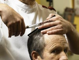 Barbers provide hair care services.