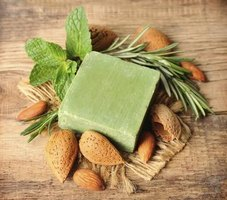 Consumers often prefer herbal soaps' distinctive scents and textures.
