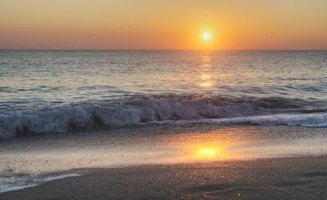 Get up early and catch a memorable sunrise in Vero Beach, Florida.