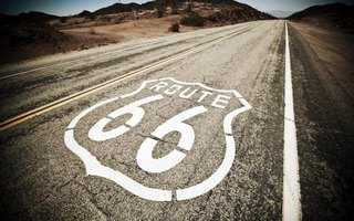 Route 66 originally covered 2,451 miles.