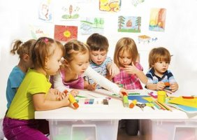 Preschoolers can have fun as they learn about day and night.
