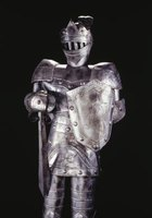 A suit of armor provides Bible teaching as a food craft project.