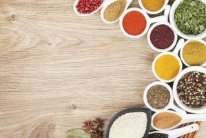 Buy spices in small quantities if you use them only occasionally.
