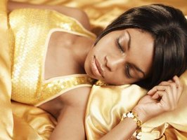 Satin sheets are noticeably shinier than cotton sheets.