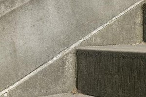 How to Repair Sinking Concrete Steps