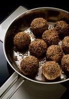 Meatballs can be made with ground beef.