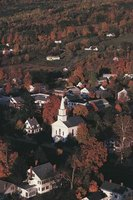 The oldest New England towns were founded in the early 1600s.