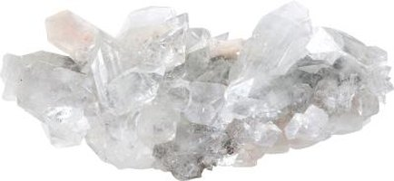Quartz is one of Tennessee's most common crystal rocks.