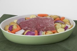 Pot roast can be broiled or braised to brown.