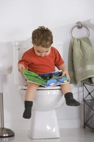 The three P's of toilet training: praise, patience and persistence.