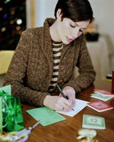 Use your Cricut to make pretty Christmas cards.