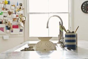 Kitchen faucets are available in a variety of styles.